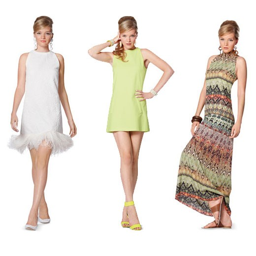 Schnitt - 7056 - Kleid, Minus-Schulter SCHNITTE Schnittmuster burda